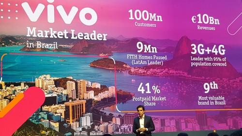 Christian Gebara, chairman and CEO of Telefonica Brasil, a.k.a. Vivo, has more than 100 million customers to keep happy.