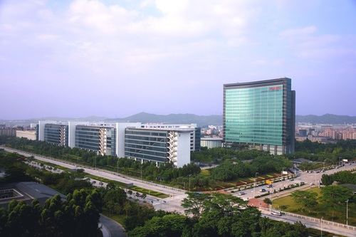 Huawei's headquarters in the Chinese city of Shenzhen.