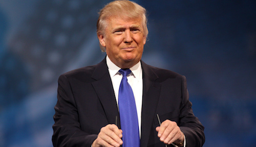 US President Donald Trump has recently waded into the debate surrounding mobile technology.