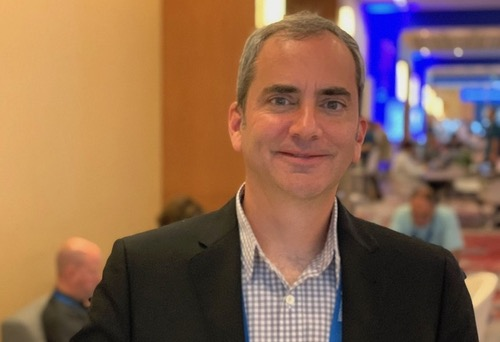 Microsoft's Rick Lievano at Microsoft Ignite conference in September.