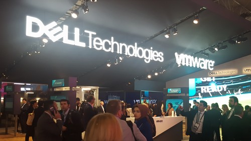VMware shared its MWC19 show floor presence with Dell Technologies.