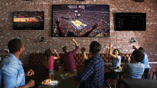 Comcast Business hopes its tailored version of X1, which features an integrated sports app, will be a hit at bars and restaurants.