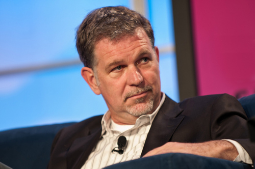 Netflix CEO Reed Hastings has taken a bite out of Apple with his withdrawal from the iPhone company's billing system.