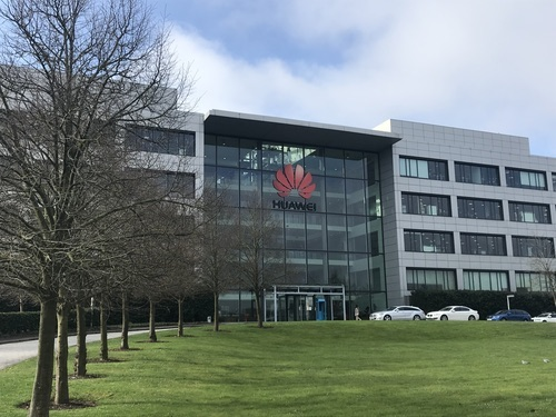 Huawei's UK headquarters in Reading.
