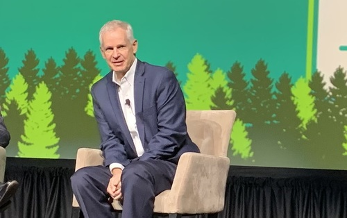 Charlie Ergen said Dish is looking to work with CCA members in areas such as tower access, distribution and sales of the company's planned 5G network.