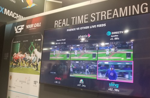 Phenix claims it can chop the latency of a live OTT-TV feed down to half a second.
