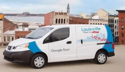 Google Fiber ceased service in Louisville on Monday, April 15.