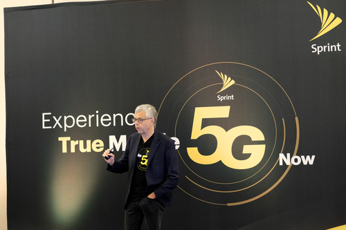 Michel Combes, president and CEO of Sprint, talked about Sprint's journey to 5G and how the company can only fulfill its 5G promise completely if it is allowed to merge with T-Mobile.