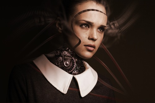 ...we aren't sure how gendered the coming AI takeover will be yet. (Source: Pixabay)