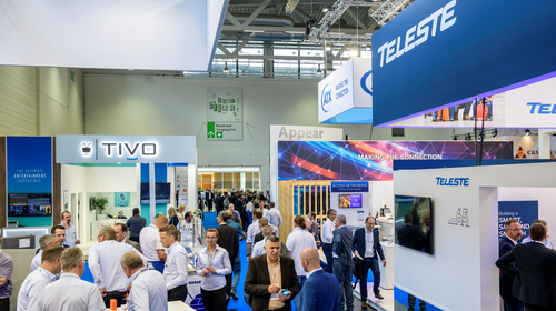 Teleste at this year's ANGA COM show in Cologne: The vendor said deploying DAA products has proved trickier than expected. (Picture courtesy of ANGA COM.)