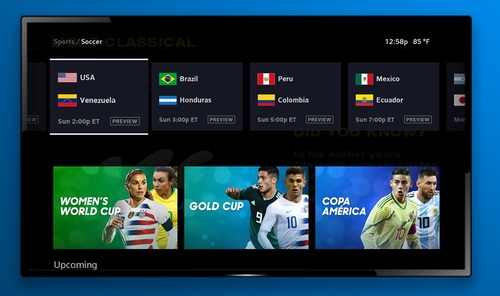 Alongside its 4K coverage, Comcast will also use its X1 platform to aggregate access to live matches, replays, stats, news and other features and coverage tied to the FIFA 2019 Women's World Cup