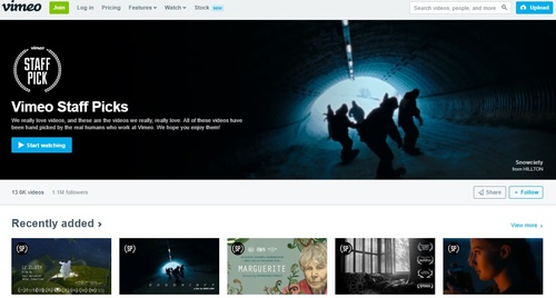 Vimeo currently supports AV1 on its Staff Picks channel and is making plans to extend support to all videos uploaded to its platform.