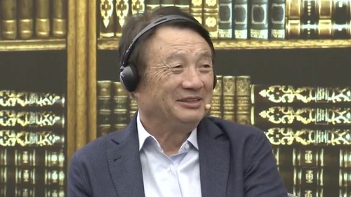 Huawei founder Ren Zhengfei described the vendor as a 'badly damaged plane.'