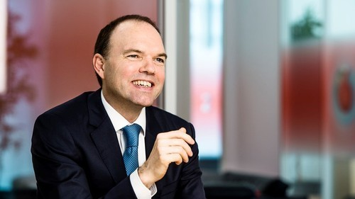 Vodafone CEO Nick Read receives good news from Europe.