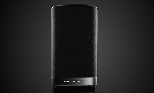 In addition to providing hands-free control of the Altice One gateway, the Devialet-made Altice Amplify smart speaker supports Adaptive Volume Level technology that detects and adjusts volume automatically during 'key moments.' For example, it will up the volume for dialogue and lower it during action scenes.