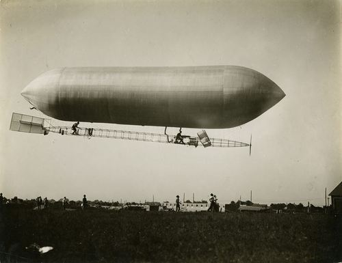 The Baldwin Dirigible airship, in service for the US Army about 1908-1912. Via the National Museum of the US Air Force