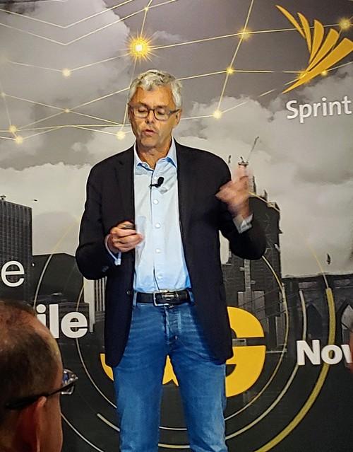 Michel Combes, CEO, Sprint