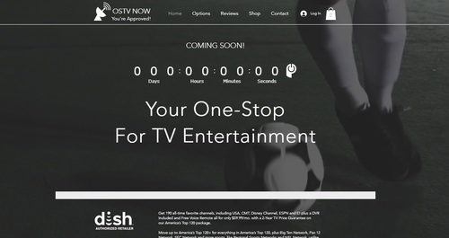 A screencap of the OSTV Now site as it appeared the evening of Monday, Sept. 2, 2019.