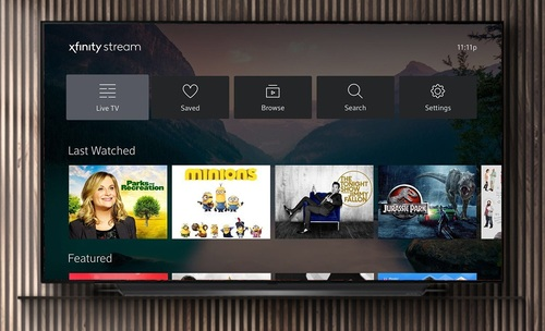 Comcast's Xfinity Stream app for LG-made TVs support many, but not all, of the services and features delivered on the MSO's own X1-class set-top boxes.