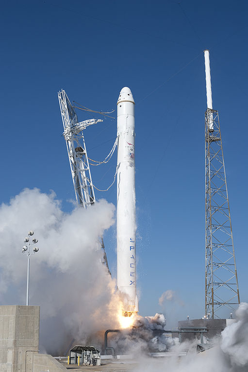SpaceX Falcon9 launch, 2014
