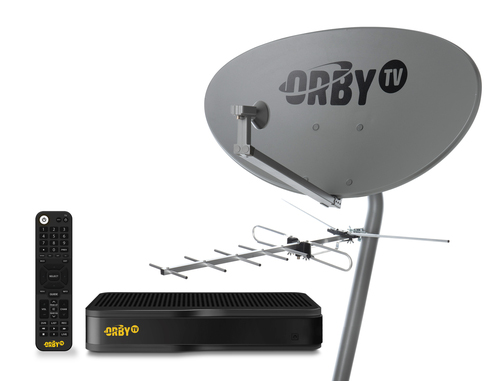 Orby TV has assembled a platform that combines satellite-delivered TV with free, over-the-air local broadcast channels.