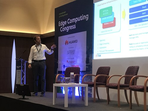 Telecom Italia's Andrea Calvi prefers open source to ETSI MEC specs, he says.