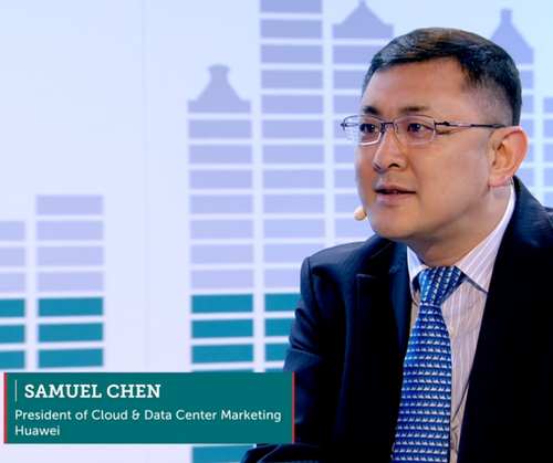 Samuel Chen, President, Cloud & Data Center Marketing, Huawei