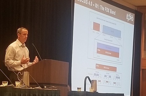 Robert Howald offered an update on Comcast's FDX trials in single-home residential areas as well as in multiple dwelling unit environments.