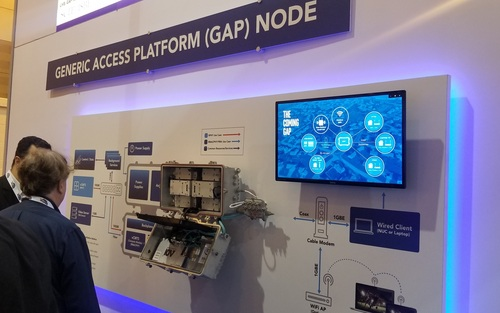 ATX Networks showed off a proof-of-concept GAP node developed with Cisco, Intel, Applied Optoelectronics and Silicom Connectivity Solutions.