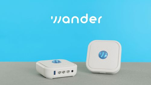 Wander supplies its own WiFi routers but does allow customers to set up mesh systems using gear from outside suppliers.