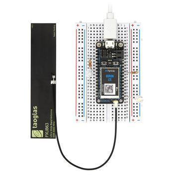 Particle's Boron LTE developer kit for Cat-M.