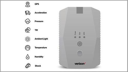 Verizon's Cat M1 Low Power WAN (LPWAN) Critical Asset Sensor (CAS)