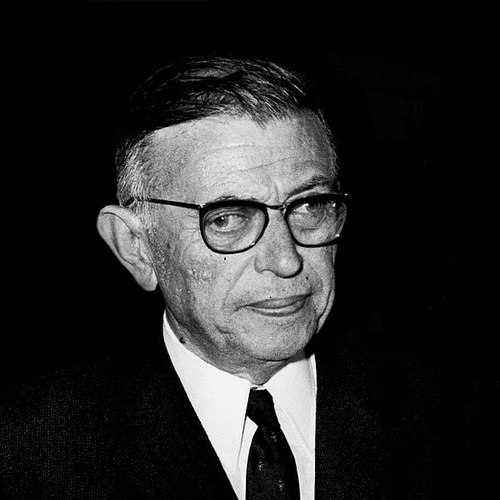 Jean Paul Sartre: If he were alive today, he'd probably be wondering what Orange was for.