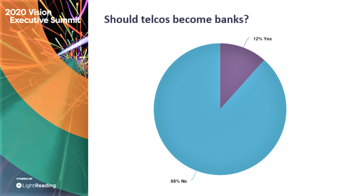 Not many in the industry believe telcos should become banks.
