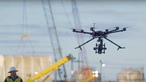 Verizon sees drone business on the horizon.