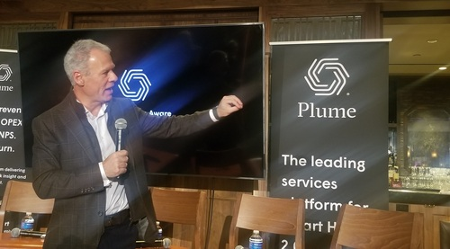 Using a common software platform driven by the cloud to create smart home experiences represents the 'next horizon' for the market, Plume CEO Fahri Diner says.