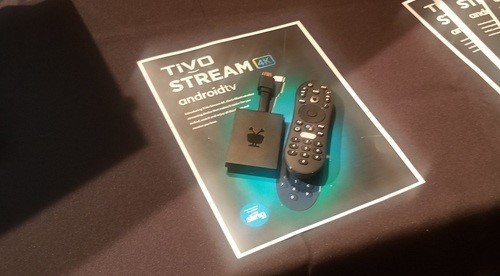 TiVo's new streaming device will run Android TV and support a voice remote.
