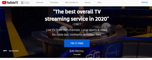 Windstream is promoting YouTube TV to broadband customers, but continues to provide other pay-TV options, including its own Kinetic TV streaming service (developed with MobiTV) and bundles featuring the DirecTV satellite TV service.