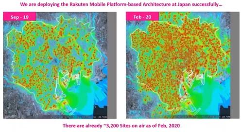 Rakuten said its network across Tokyo has been expanding.  (Source: Rakuten)