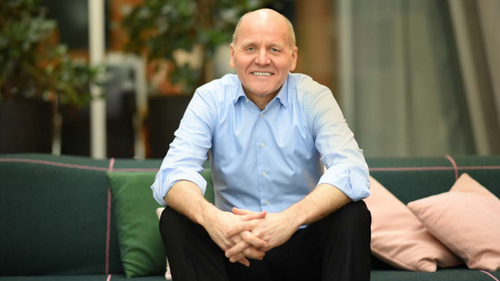 Telenor CEO Sigve Brekke has more reason to smile than many of his employees.