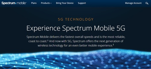 Charter is limiting access to Verizon's 5G network customers on Spectrum Mobile's unlimited plan. Customers on Spectrum Mobile's By the Gig plan will remain 4G-only.