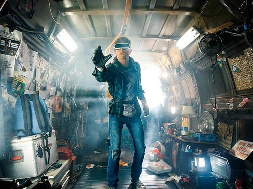 Wade Watts, the main character in Ready Player One, loses himself in virtual reality.