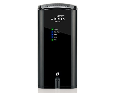 The CommScope/Arris NVG558 is a fixed wireless access gateway with Wi-Fi 6 support for service providers.