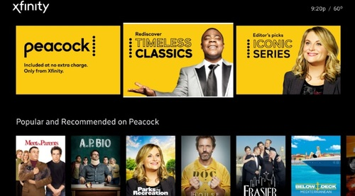 Peacock's free tier will feature more than 7,500 hours of content and its premium tier – $4.99 per month with ads, and $9.99 per month without – will offer 15,000 of movies and TV shows.