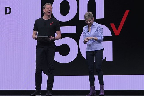 Verizon CEO Hans Vestberg, deeply integrated into his pants.
