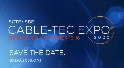 Cable-Tec Expo 2020 was originally set to take place October 13-16 at the Colorado Convention Center in Denver.