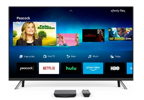 Flex takes advantage of Comcast's voice remote to navigate streaming services and apps and its 'xFi' home network management platform along with an option to upgrade to the cable op's full X1 pay-TV service.