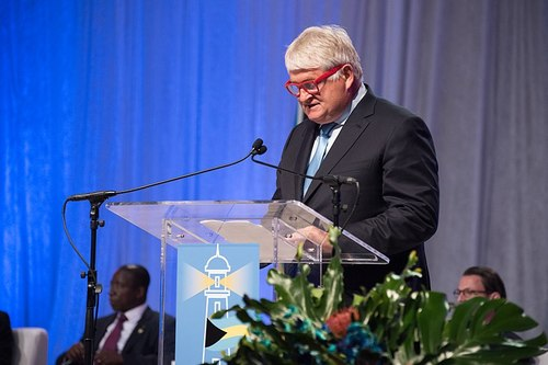 Digicel owner Denis O'Brien, reportedly worth $3 billion, is asking bondholders for relief.