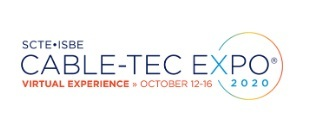 Cable-Tec Expo 2020's logo has been updated to make note of the new, virtual format.