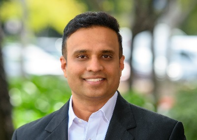 Shashi Kiran is chief marketing and product officer for Aryaka. (Image courtesy of Aryaka.)